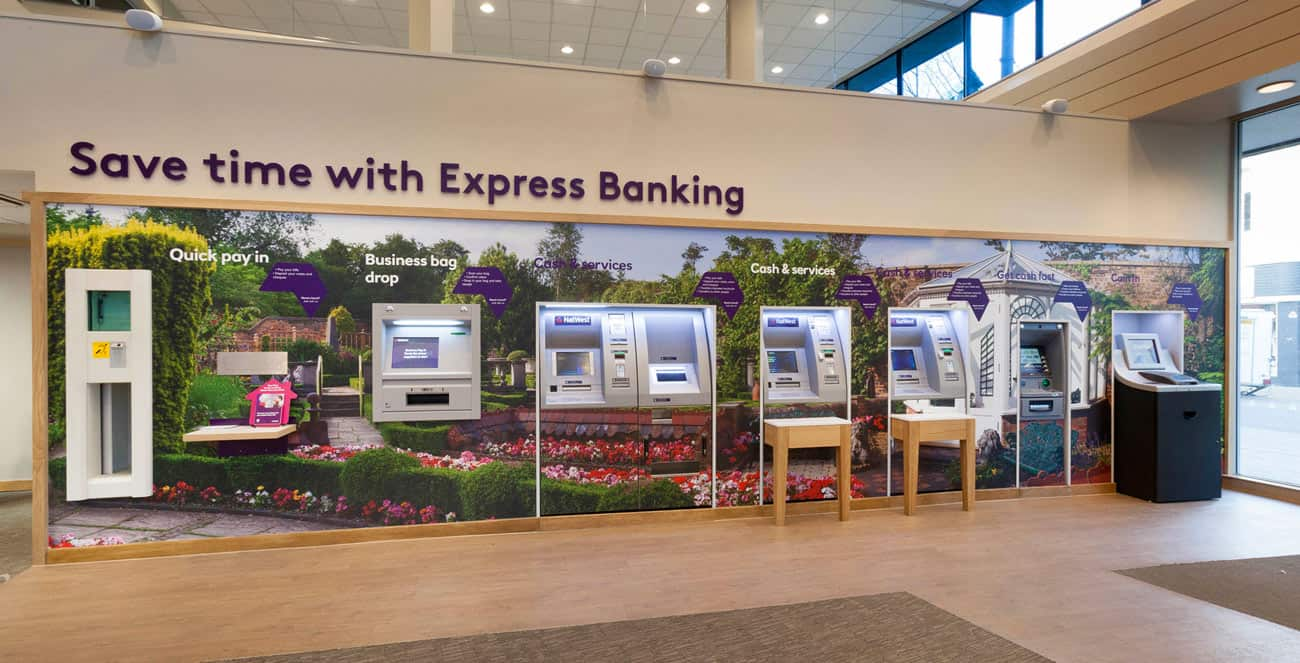 Luton NW bank ATM