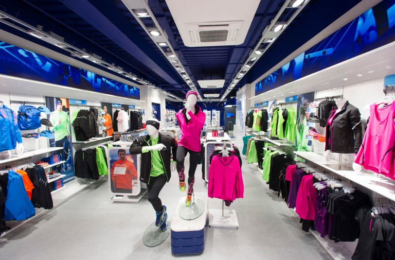 Retail photography: shop store outlet Leeds