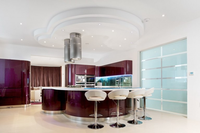 Designer Kitchen by Glasgow Commercial and Advertising Photographer