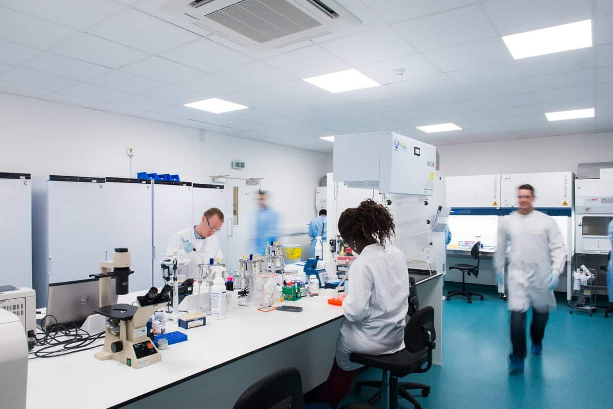 Laboratory Clean Room by Glasgow Commercial and Industrial Photographer