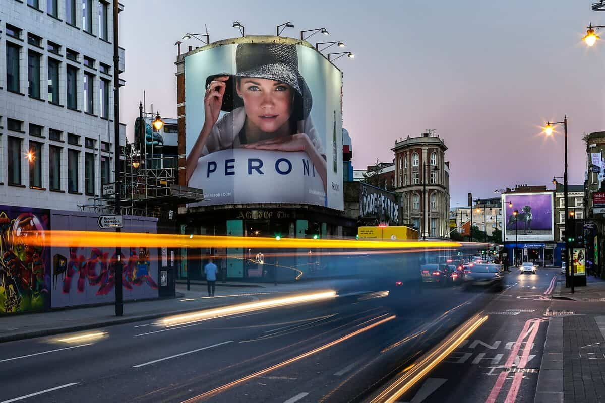 OOH media photographer East London