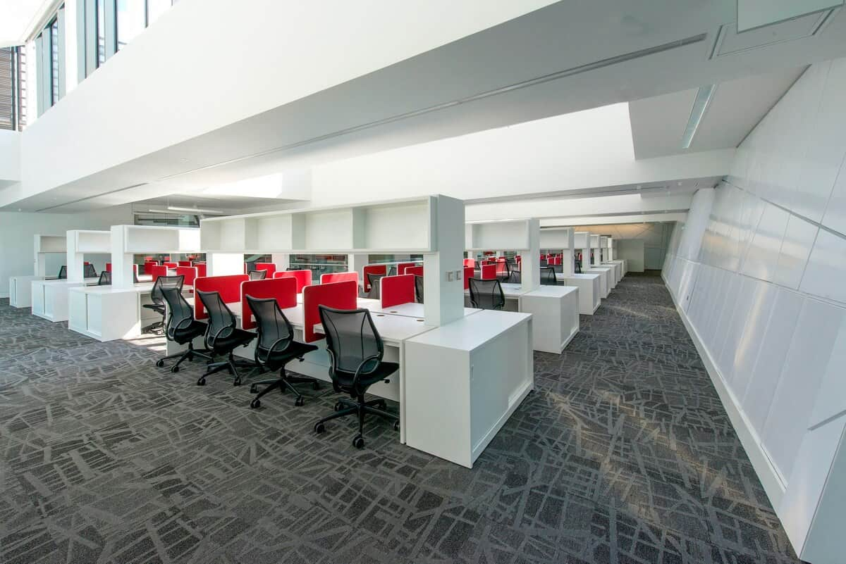 Office interior photography Manchester, professional architectural photographer, Manchester area