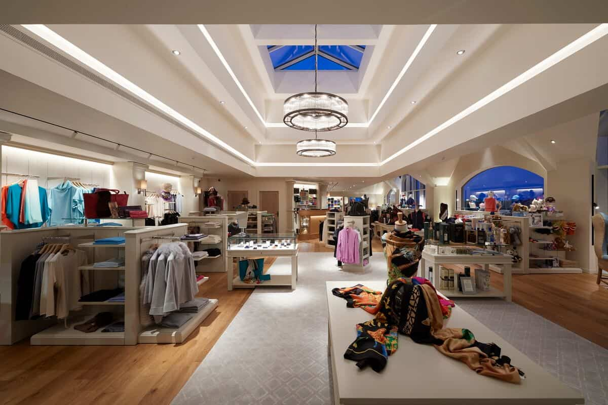 Retail interior photography Inverness