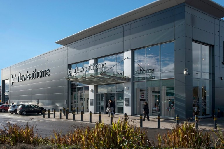 Retail park photography and commercial property photographer for advertising brochure and websites in Greater Manchester