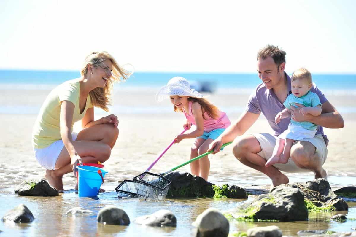 Family Photographer Northeast, Location Beach Tourism Photographer Northumbria
