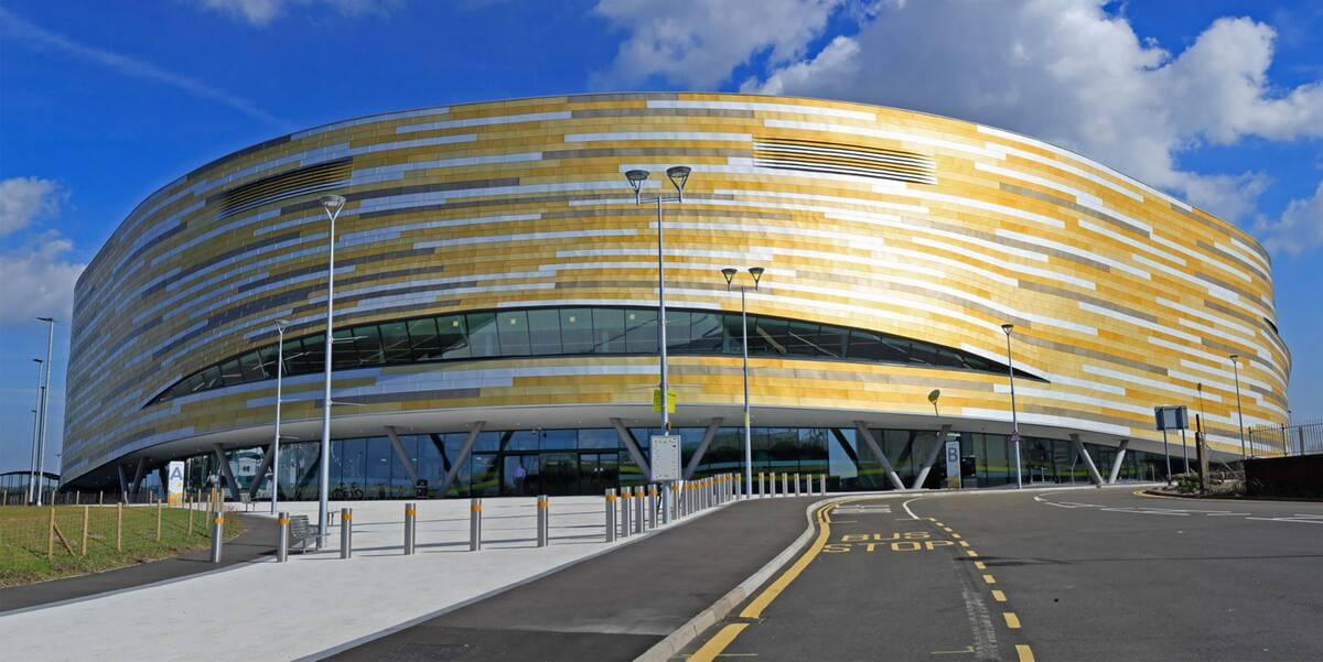 Derby Arena - Location Photography Nottingham