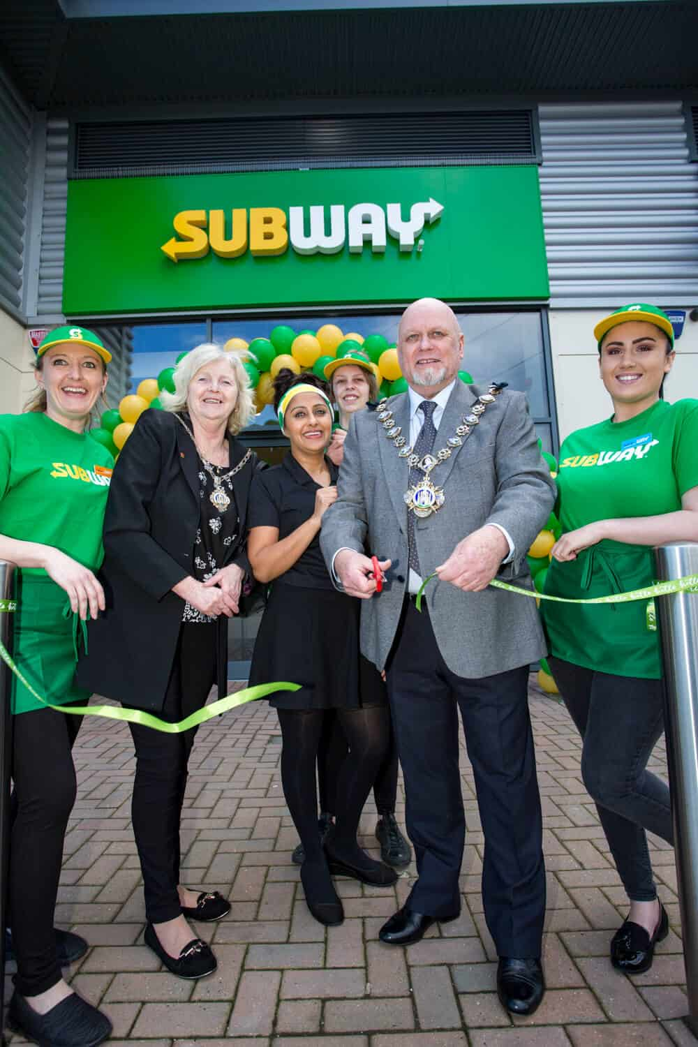 retail store opening photography Toby Smedley commercial photographer Subway Lord Mayor ribbon cutting.4