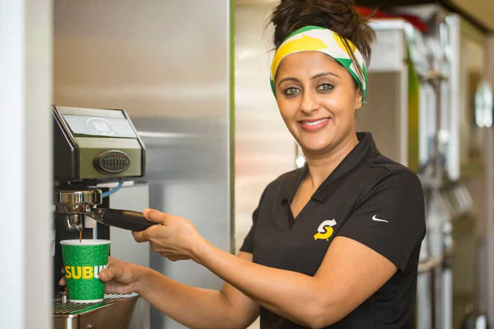 retail store opening photography Toby Smedley commercial photographer Subway franchisee portrait.3