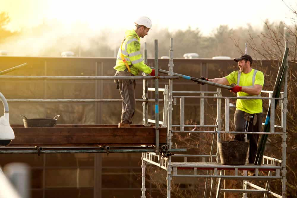 Construction photography of builders by commercial photographers network