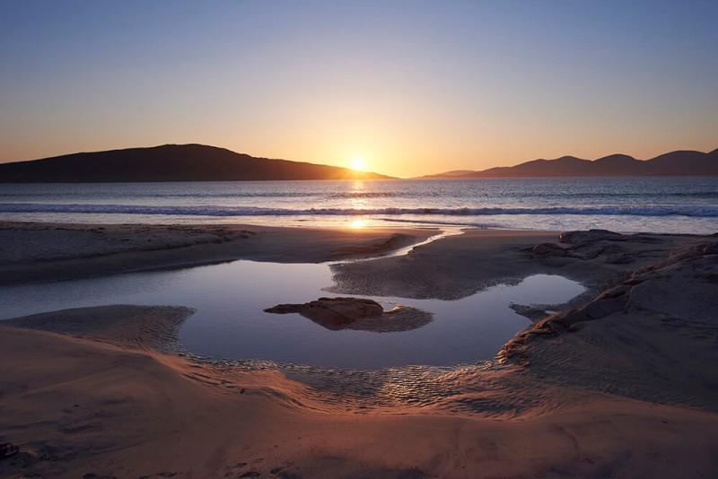 Glorious view of Luskentyre Beach in the Western Isles